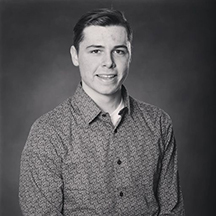 UNI graduate Caleb Gipple