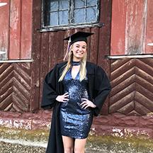UNI student Emily McDermott