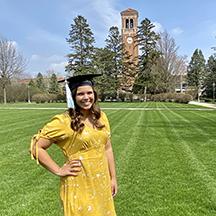 UNI graduate Emma Gruhn