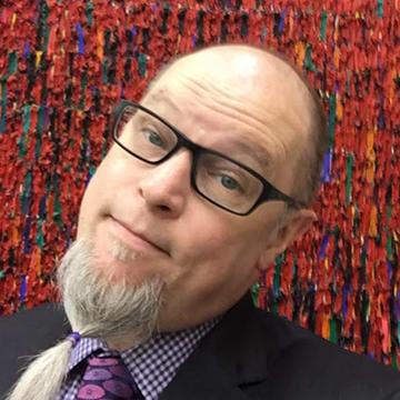 UNI professor Jeffery Byrd