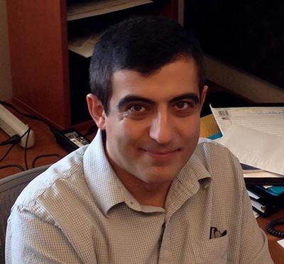 UNI physics professor Pavel Lukashev