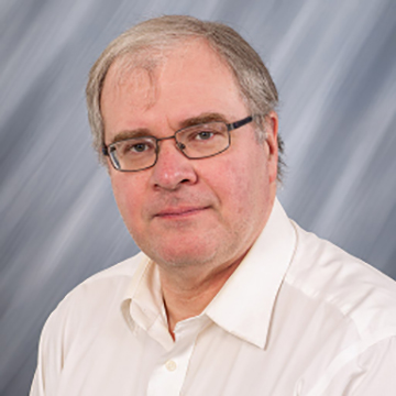 UNI professor Dave McClenahan