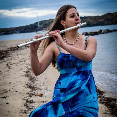 UNI flutist Hannah Porter-Occena.