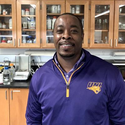 UNI biology professor Jerreme Jackson.