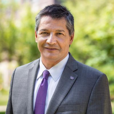 New UNI provost Jose Herrera