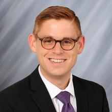 UNI federal government relations officer Andrew Morse