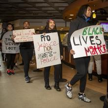 UNI students kick-off Black History Month.