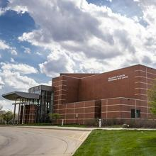 The Gallagher Bluedorn Performing Arts Center