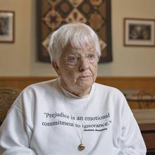 UNI alumna Jane Elliott