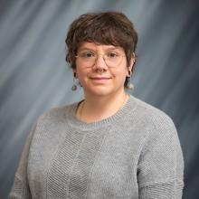 Jess Cruz, outreach educator and exhibit preparator for the UNI Museum.