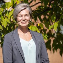 UNI associate professor Kelli Snyder