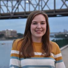 UNI physics student Madelyn Johnson.