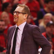 NBA coach and UNI alum Nick Nurse