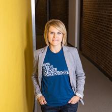 UNI professor Nicole Skaar