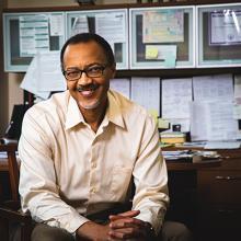UNI physics professor Paul Shand