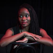 University of Northern Iowa graduate student Phales Milimo, of the women's and gender studies program.
