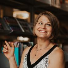 UNI alumna Christine Stewart