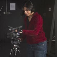 UNI Associate Professor of Digital Media Francesca Soans