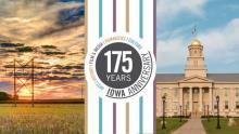 Iowa 175th Anniversary of Statehood