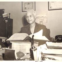 Iowa suffragist Gertrude Rush