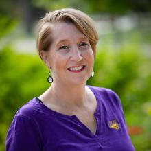 Admissions director Terri Crumley.