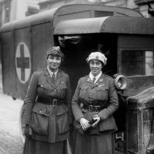 Women in World War I.