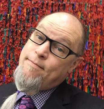 UNI art professor Jeffery Byrd